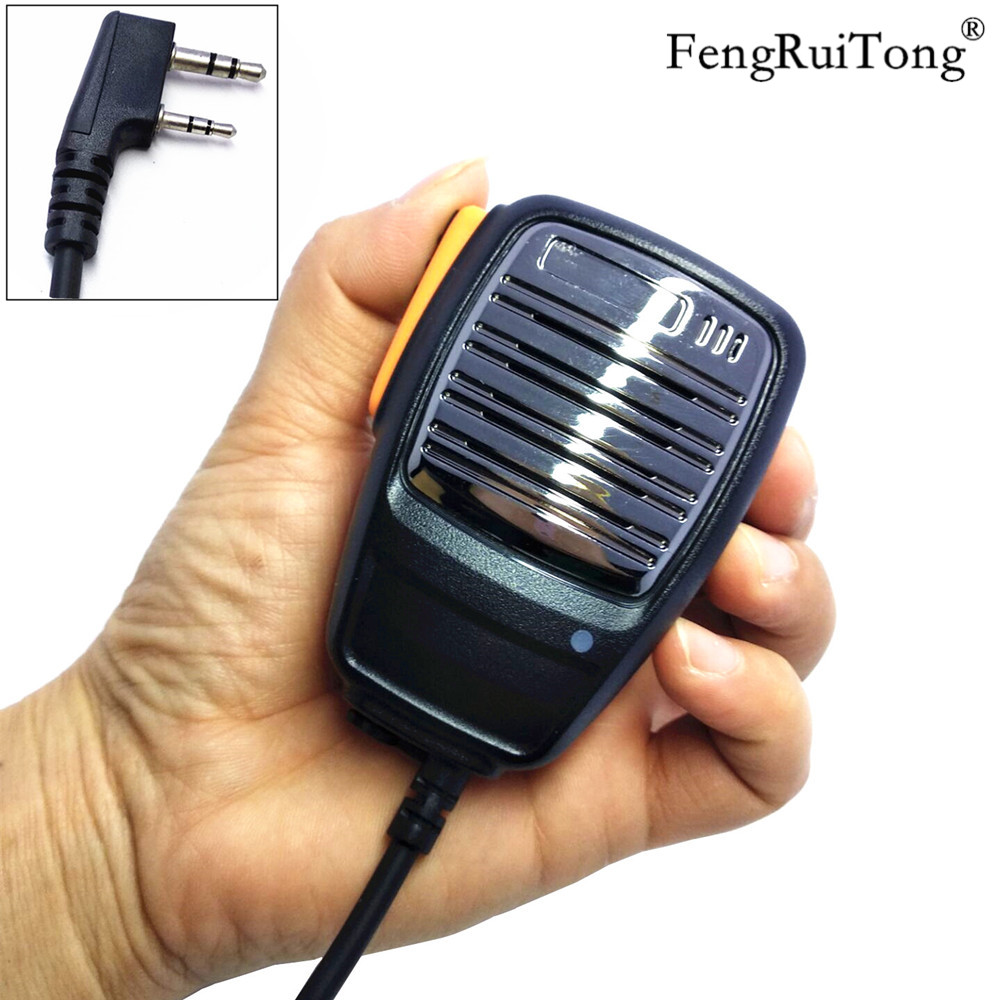 Peaker Microphone For Baofeng UV-5R BF-888S UV5R GT-3TP Kenwood TK3107 TK3207 PUXING PX-777 Radio Walkie Talkie Handheld Mic