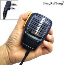 peaker Microphone for Baofeng UV-5R BF-888S UV5R GT-3TP Kenwood TK3107 TK3207 PUXING PX-777 Radio Walkie Talkie Handheld Mic