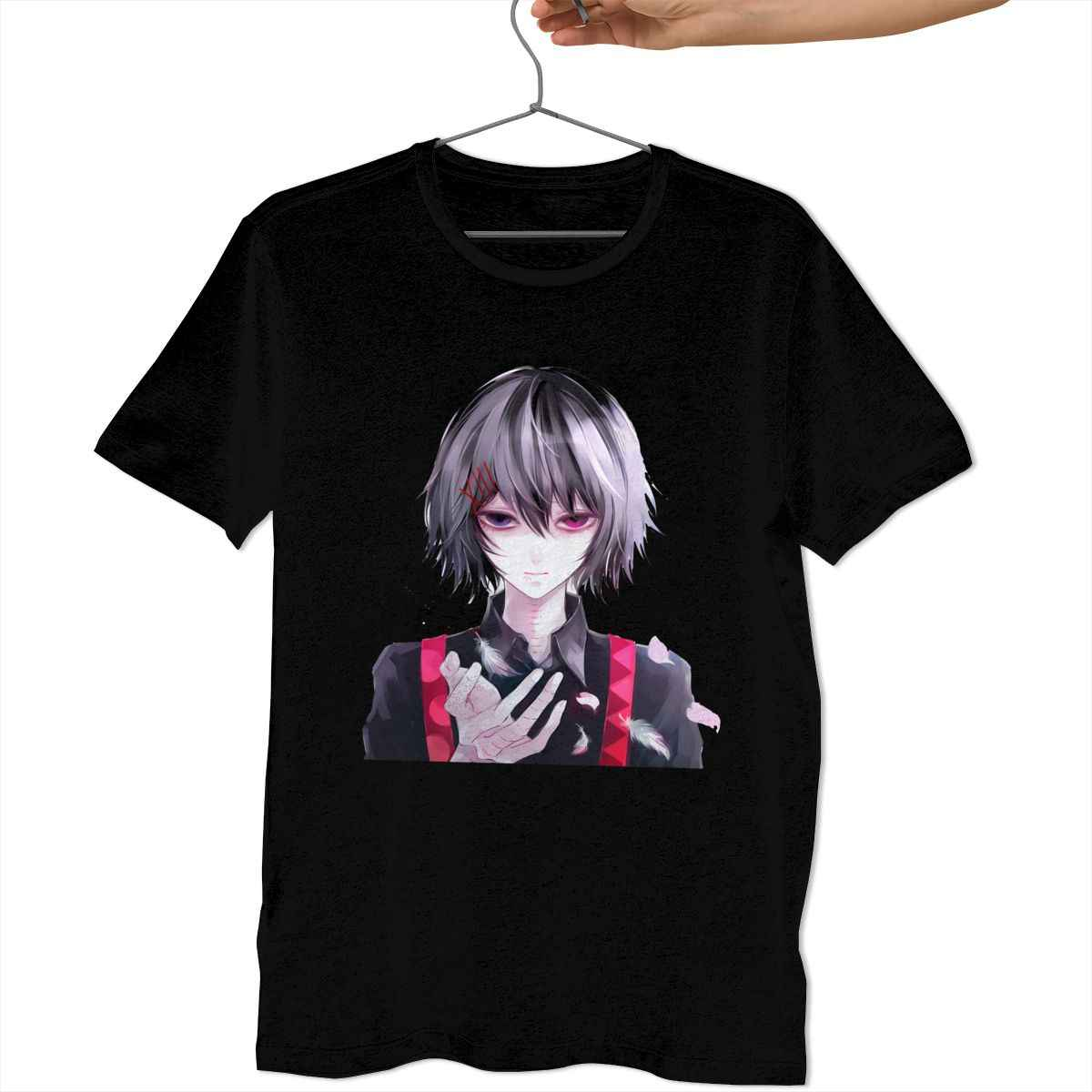 REI Big EyE Black T-Shirt COS Tee Short Sleeve Anime Tokyo Ghoul JUZO SUZUYA