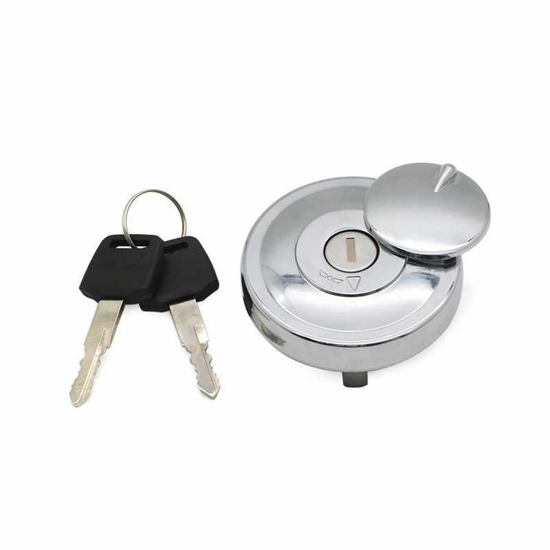 REBACKER Fuel Gas Tank Cap Keys Set Fit For Yamaha DragStar V-Star XVS650 950 1100 98-17