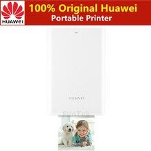 AR เครื่องพิมพ์ 300dpi Original Huawei ZINK เครื่องพิมพ์ภาพแบบพกพา Honor คู่มือเครื่องพิมพ์บลูทูธ 4.1 สนับสนุน DIY หุ้น 500mAh