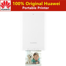 AR Printer 300 Dpi Asli Huawei Zink Portable Photo Printer Kehormatan Saku Printer Bluetooth 4.1 Dukungan DIY Saham 500 MAh(China)