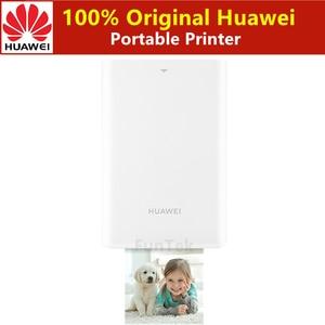 Image 1 - Оригинальный принтер Huawei Zink 300 точек/дюйм, портативный фотопринтер Honor Pocket, Bluetooth 4,1, поддержка DIY Share 500 мАч