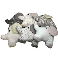 6 шт./лот, детская кровать, бампер, кроватка, слон, бампер, детская кровать, защита для кроватки, бампер для новорожденных, Комплект постельного белья для малышей