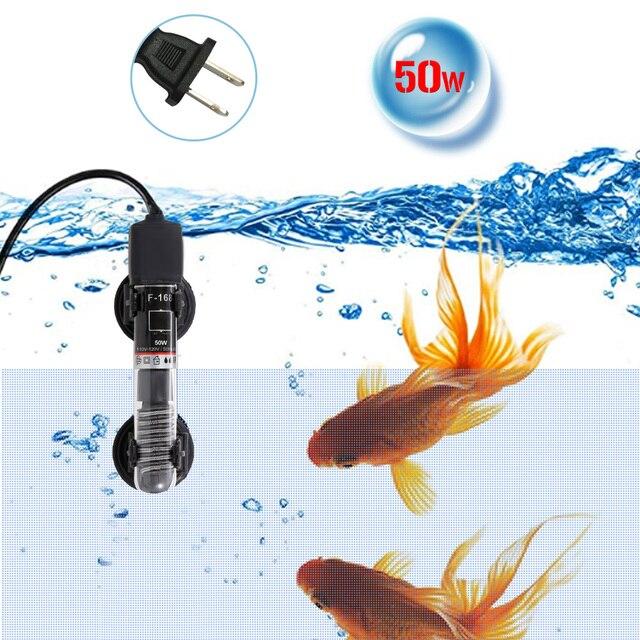 Mini chauffe-Aquarium Submersible Thermostat automatique chauffe-eau réservoir de poisson chauffe-eau Tube de Quartz avec ventouses