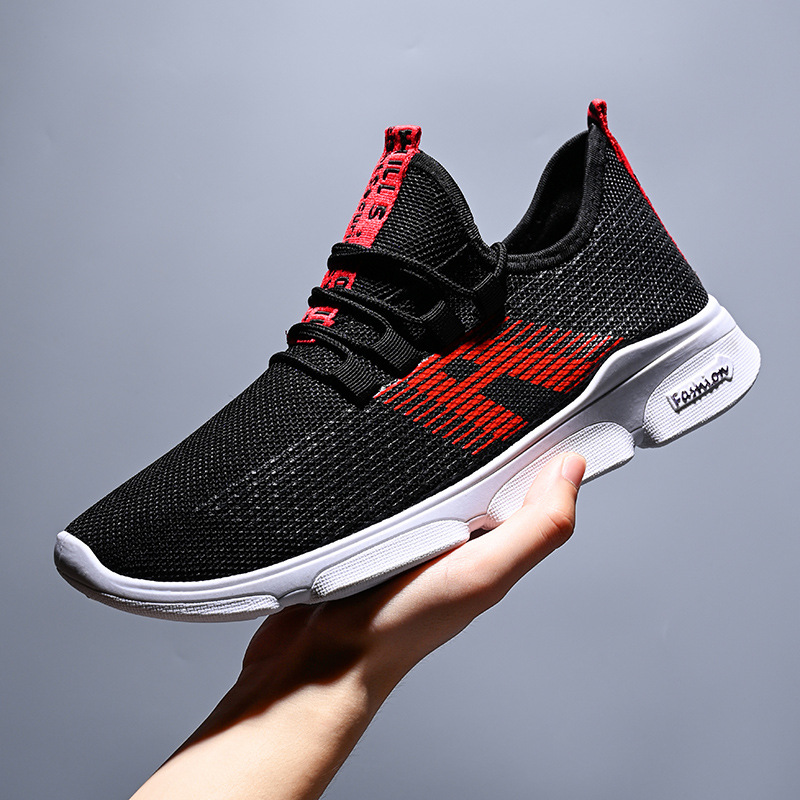2019 Men Sneakers Men Casual Shoes Brand Men Shoes Male Mesh Flats Plus Big Size Loafers Breathable Slip On Spring Autumn Xammep