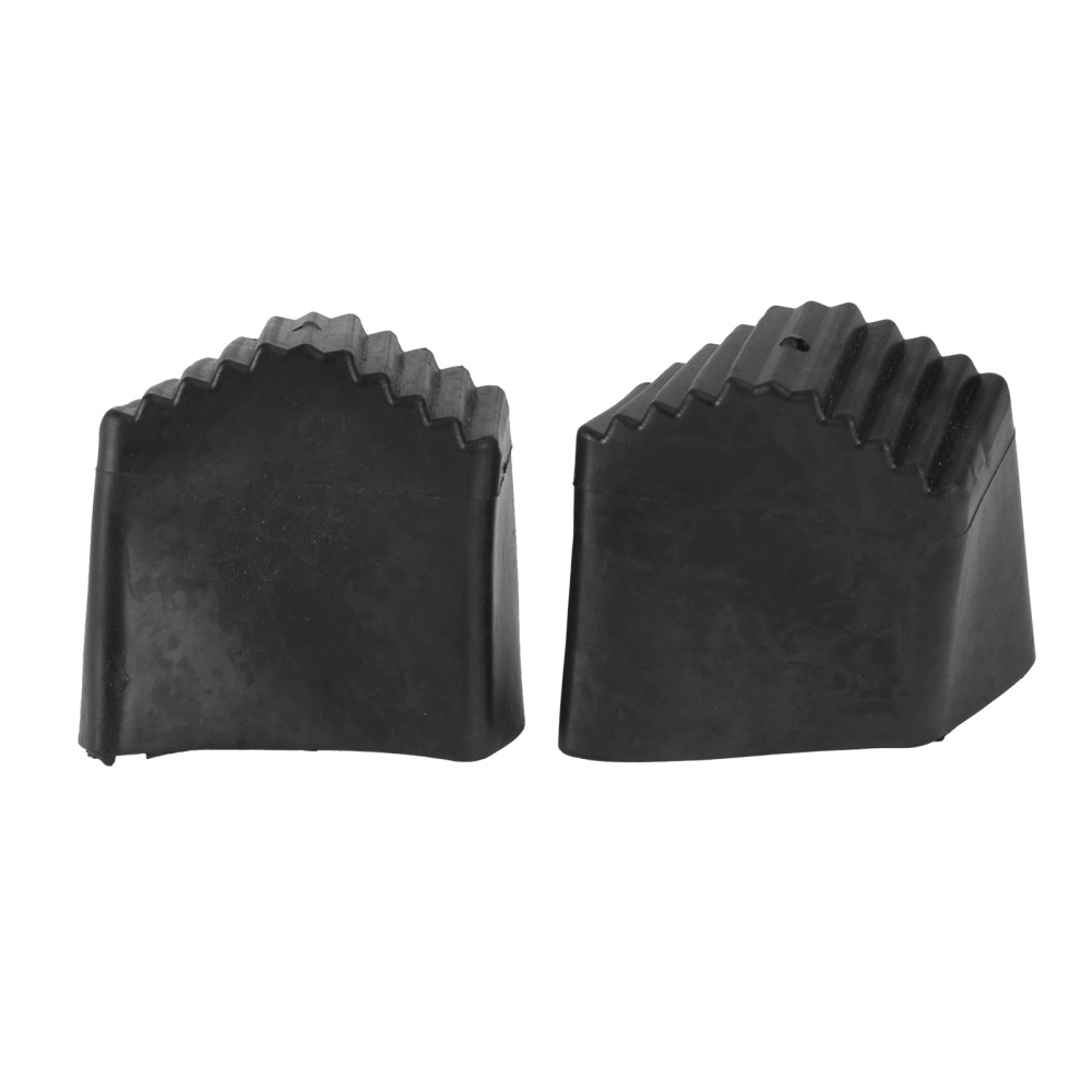 2Pcs Insulated Ladder Foot Covers Safe Ladder Foot Pads Ladder Tools (Black)