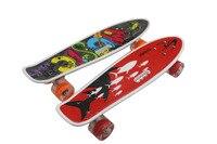 Manufacturers Direct Selling Four Wheel Skateboard Beginners Teenager Highway Skateboard Adult Night Light Skateboard Hand Flash