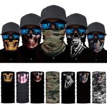 Coupe-vent, tampons de Bandana, Camouflage 3D sans couture, écharpe solaire et UV, chauffe-cou, pour hommes et femmes