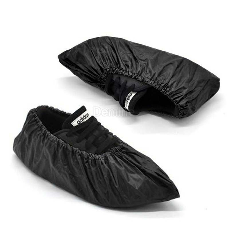 DEMINE Durable and Waterproof Shoe Protector with Anti Slip Sole for Outdoor Activity in Rainy Days Also Suitable for Mud Beach and Snow 9