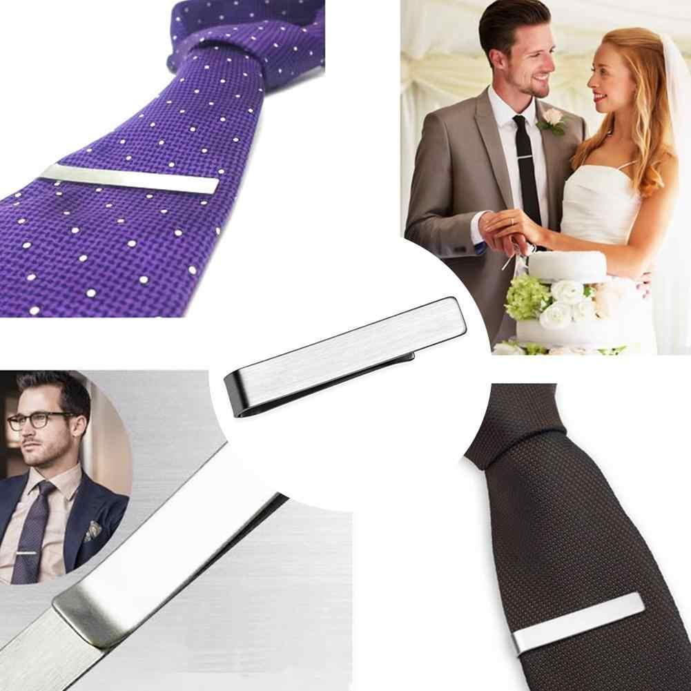 ビジネスメンズファッションシンプルなスーツネクタイタイクラスプ紳士ネクタイバーポケットジュエリーメンズ衣類付属品