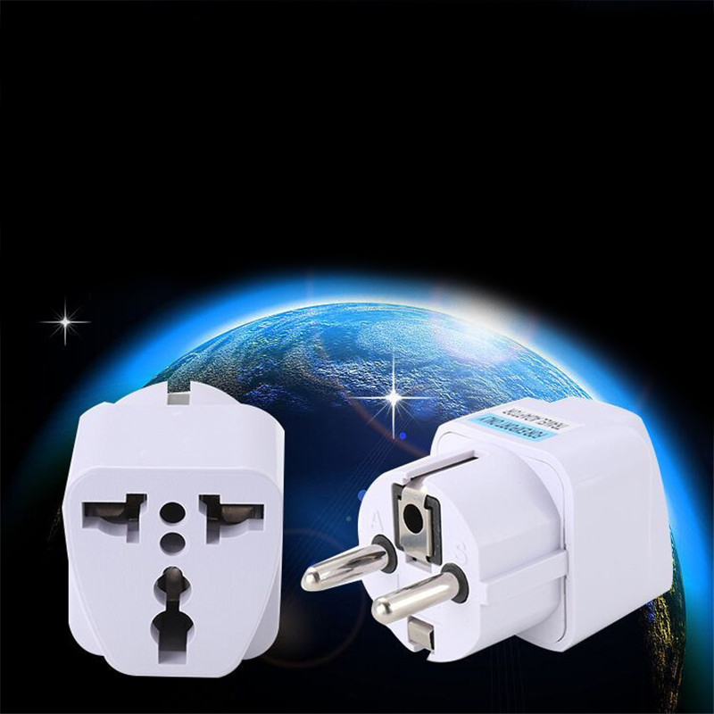 IEC 320 C5 to C8 2.5A 110-250V Power Adapter Extension Converter for Travel