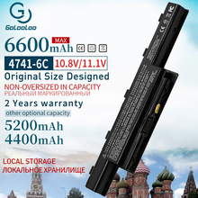 6600mAh AS10D31 4741 סוללה למחשב נייד חדשה עבור Acer Aspire V3 5741 5742 5551G 5560G 5750G AS10D41 AS10D3E AS10G3E AS10D61 AS10D81