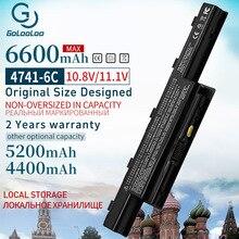 6600mAh AS10D31 4741 Neue Laptop Batterie Für Acer Aspire V3 5741 5742 5551G 5560G 5750G AS10D41 AS10D3E AS10G3E AS10D61 AS10D81