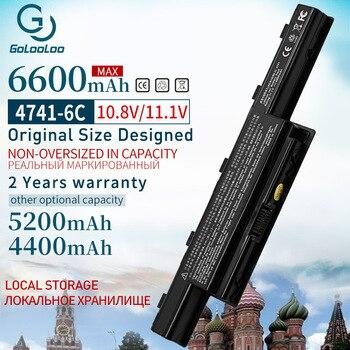 Batería de ordenador portátil para Acer Aspire V3 6600G 4741 5741G 5742G...