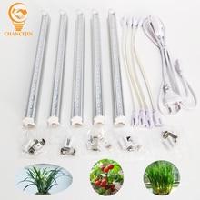 T5 lâmpada led para aquário, luz de led para economia de alta eficiência e de energia, compensador, para plantas em vasos, para sementes frutas e frutas