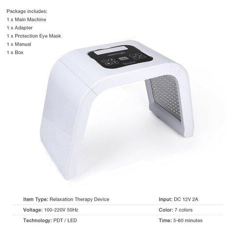 Pdt Smart Spectrometer Led Light Dynamic Beauty Equipment Ten-Color Spectrometer Beauty Salon Acne Beauty Instrument Islamabad