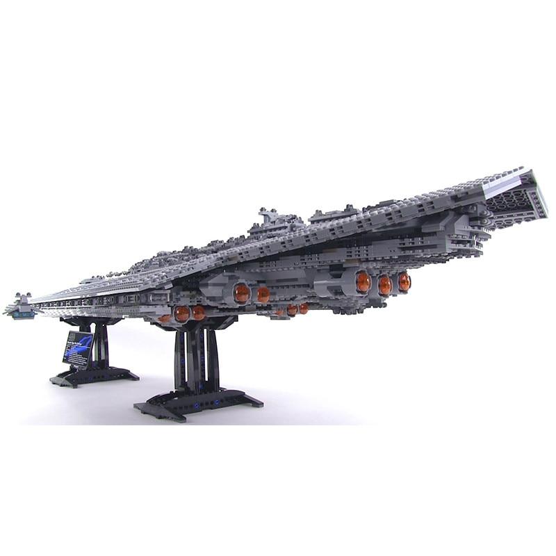 Image 2 - 75212 05028 Force Waken UCS super death star figure wars Destroyer Building Blocks Star Plan 10221 10030 Christmas Bricks Toy-in Blocks from Toys & Hobbies