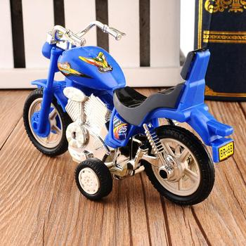 Motorcycle Model Toy Alloy Plastic Off-Road Vehicle Simulation Racing Sport Motorbike Models Cars Toys For Children Portable image