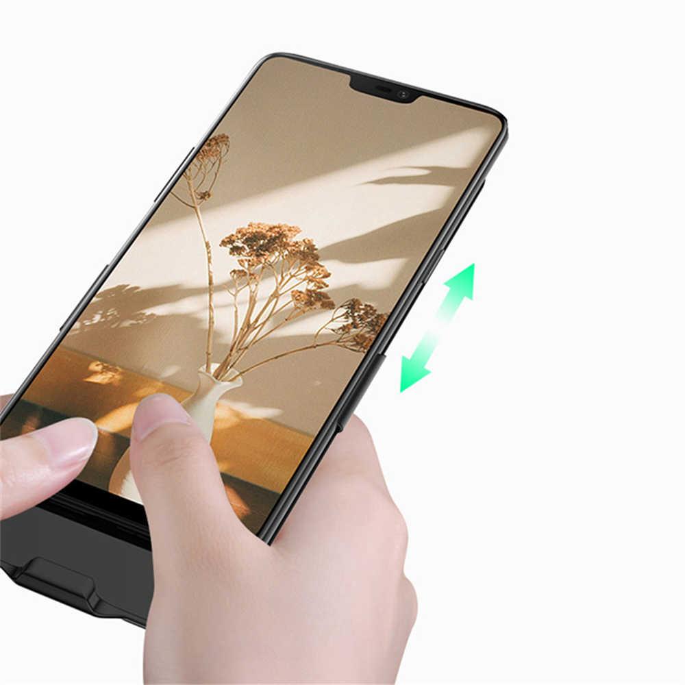 NTSPACE Di Động Công Suất Ngân Hàng Bao da Cho Xiaomi Redmi 5 Plus Dự Phòng Sạc 6500mAh Bên Ngoài Pin Sạc Trường Hợp