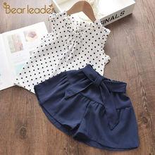 Bear leader/комплекты повседневной одежды для девочек Новинка