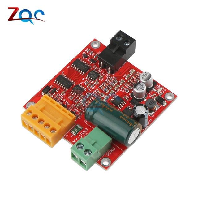 Controlador de Motor DC PWM DC 9V 12V 24V 36V 18A Tablero de Control de actuador lineal Industrial PWM módulo regulador de Motor eléctrico