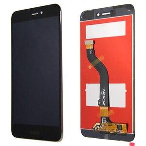 Image 4 - 100% oryginalny 5.2 wyświetlacz z ramą dla Huawei P8 Lite 2017 LCD z ekranem dotykowym Digitizer zgromadzenie PRA LA1 PRA LX1 naprawa części