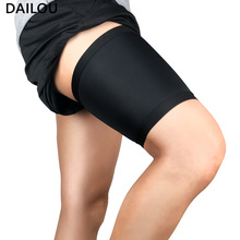 2020 New Women Thigh Band Anti-friction Solid Color Sexy Silicone Anti-scratch Protection Thigh Warm Thigh bands Christmas Gift