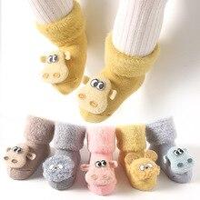 Socks Newborn Shoes Animal Infant Warm Winter Cartoon Cotton Autumn Thick Soft