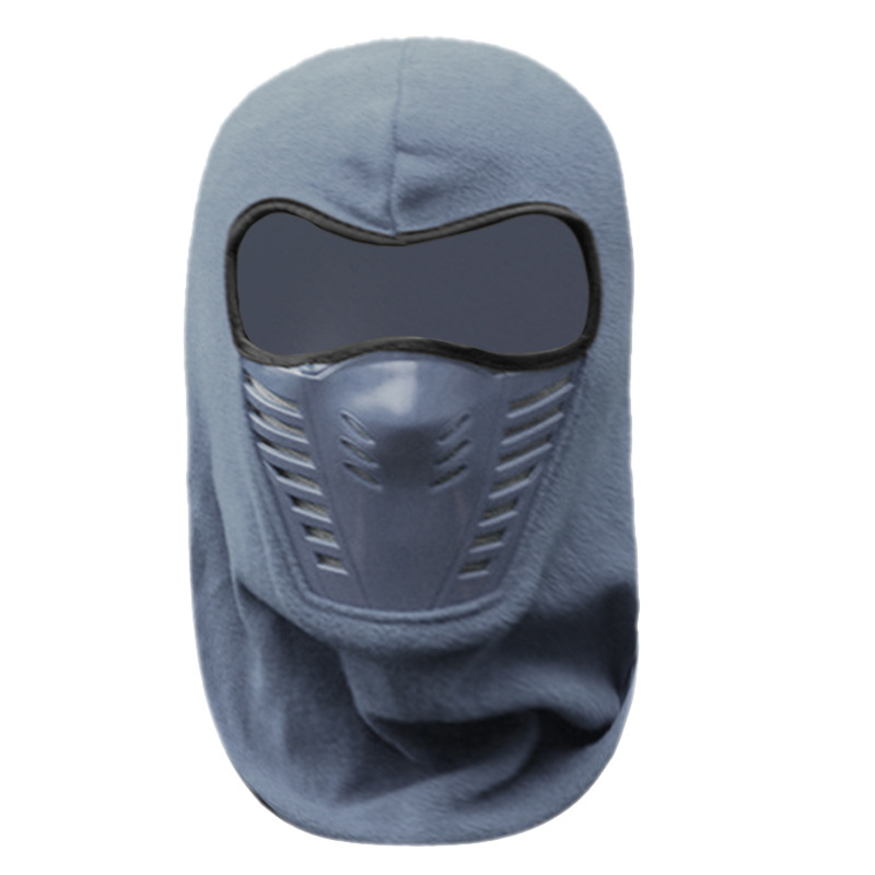 Outdoor PM2.5 Dust Mask N95 Hat Riding Thickened Fleece Hat Face Protection Riding FFP3 Masks Warm Windshield KN95 Winter Hood 3