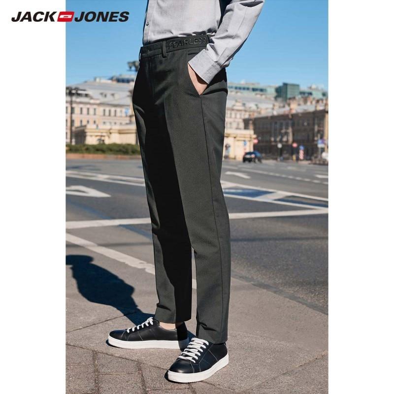 JackJones Men's Business Smart Casual Slim Fit Casual Pants Basic Mneswear 219314541