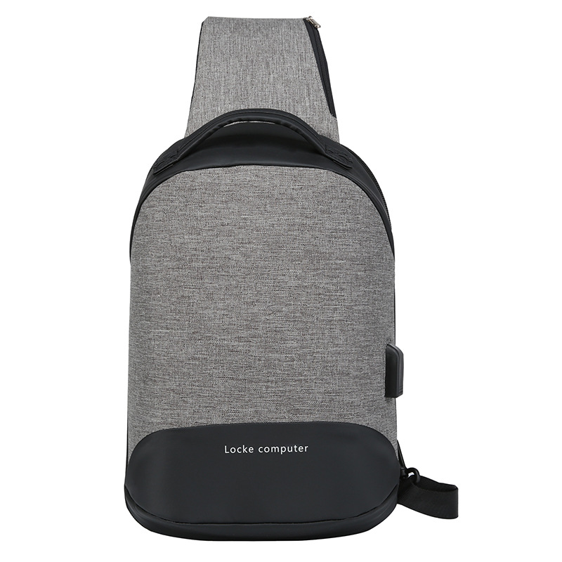 Oxford Cloth Chest Pack New Style Fashion Casual Small Shoulder Bag Multi-functional Horizontal Regulation Single-shoulder Bag V