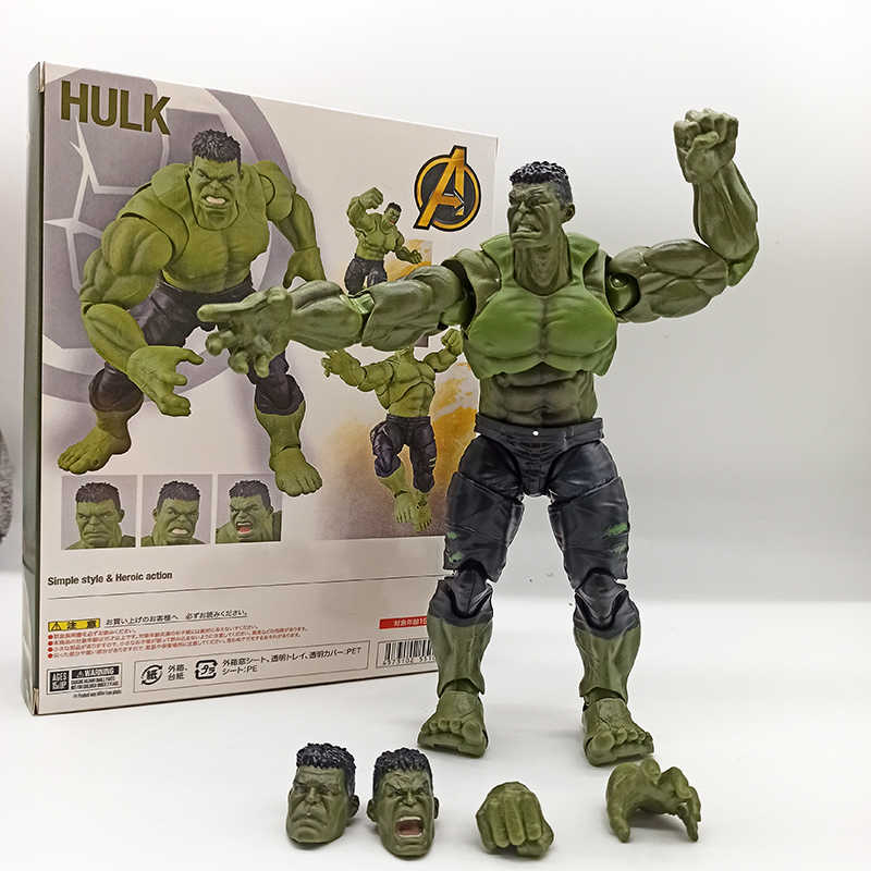SHF Hulk Figure infini guerre Bruce bannière Hulk figurine d'action jouet poupée noël cadeau d'anniversaire