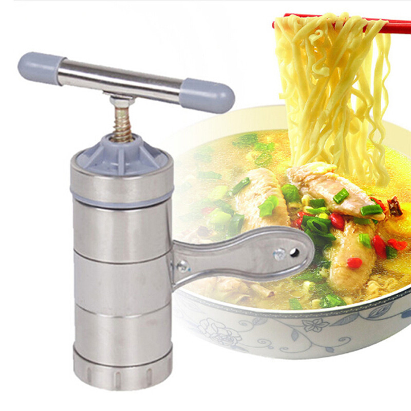 Stainless Steel Manual Pasta Machine Noodle Maker Mould Pasta Spaghetti Press Machine Household Pressing Machine