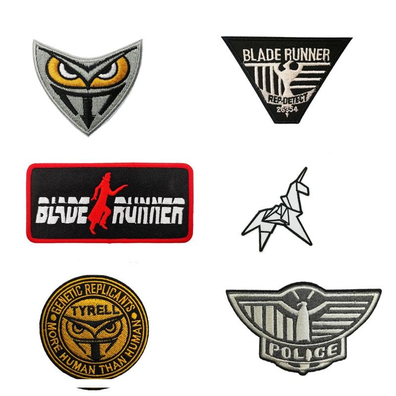 Origami Unicorn Gold Black Blade Runner Genetic Replicants Jacket Patch