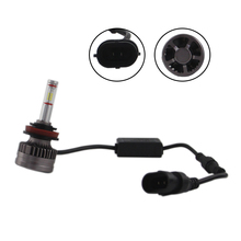 SHUOKE H8 H9 H11 LED Car Headlight H111 Auto Lamps 12V 6000K Cold White Light Automobiles Bulb with Canbus Fans