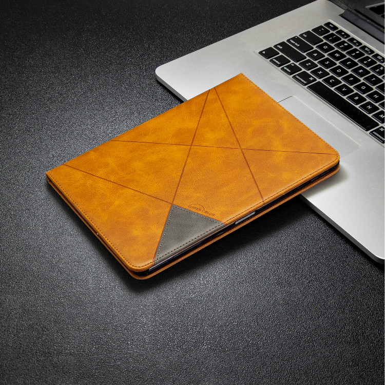 Yellow Yellow Case For iPad Pro 12 9 2020 2018 With Wallet Holder PU Leather Cover Silicone Soft