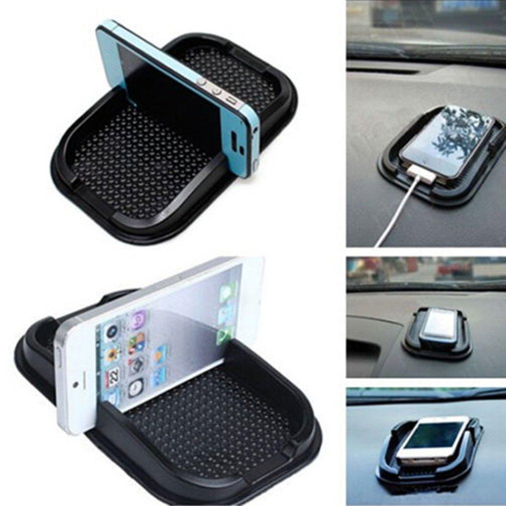 Car Dashboard Sticky Pad Mat Reusable Car Mobile Phone Mount Non Slip Gadget Mobile Phone Gps Holder 1 Piece
