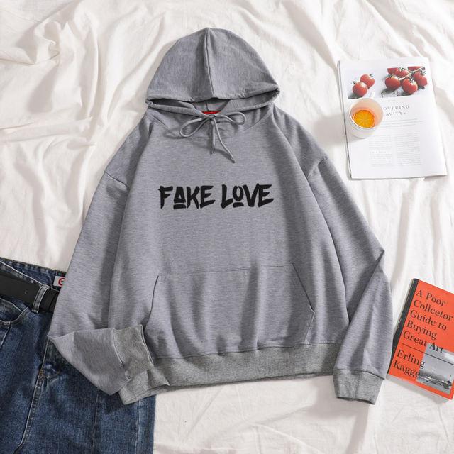 FAKE LOVE HOODI (7 VARIAN)