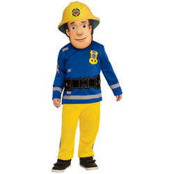 Fireman Sam Small Rescue Children Play Performances Dress Up Outfit Kids Cosplay Halloween Costumes