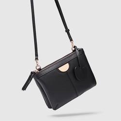 BLACK ROSEGOLD GALA CROSSBODY COUCH BAG FASHION AUSTRALIA CROSSBODY HIP BAG