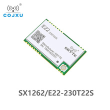 E22 230T22S SX1262 TCXO UART وحدة لاسلكية 220 236MHz جهاز الإرسال والاستقبال 230Mhz IoT واجهة مصلحة الارصاد الجوية IPEX