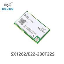 E22 230T22S SX1262 tcxo uart ワイヤレスモジュール 220 から 236/400 520mhz トランシーバ 230 mhz iot smd ipex インタフェース