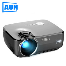 Proyector AUN LED AM01/01 P 1200 lúmenes 800*600P Home theater (versión Android opcional con WiFi Bluetooth compatible con vídeo AC3)(China)