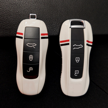 Car Alarm Remote Keyless Case For Porsche Macan Boxster Cayman Cayenne 9YA Panamera 971 911 High Quality Elegant White Key Cover