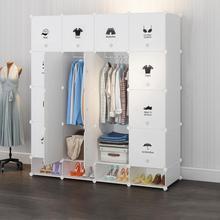20 Cube Cloth Wardrobe Furniture Storage Cabinet Fabric Closet Folding Non Woven Dust-proof Clothe Storage Organizer Bedroom HWC