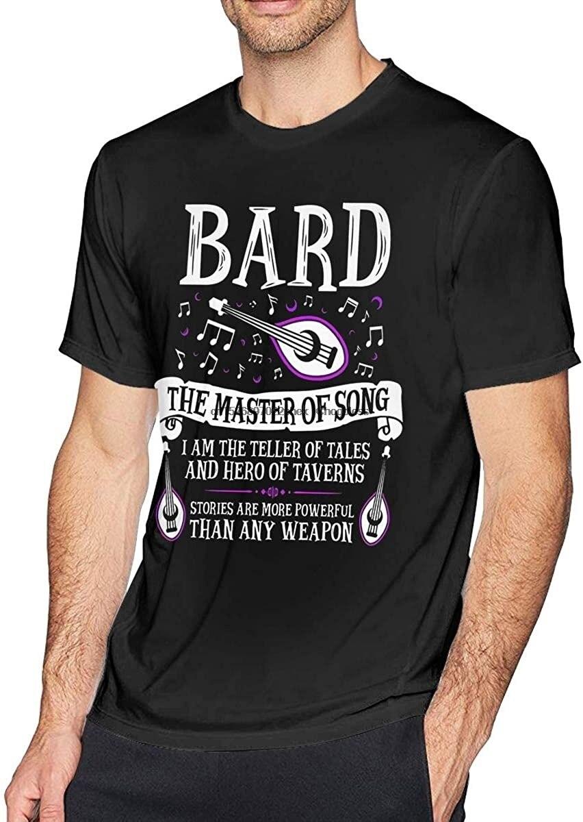 Barde le maître de la chanson donjons & amp Dragons noir