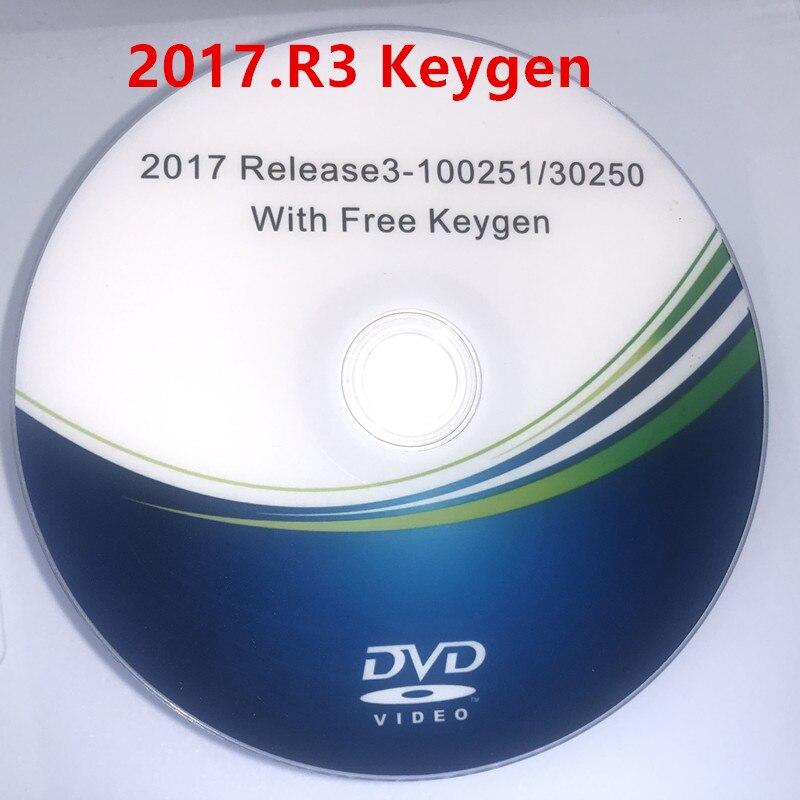Новинка 2017.R3 Поддержка функций ISS бесплатный генератор DVD CD для Delphis 150e Multidiag Vd Ds150e с автомобилем и грузовиком