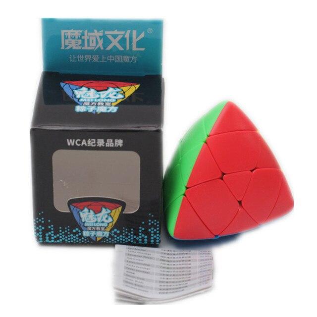 MoYu Mastermorphix Cube 3x3 Puzzle Magic Cube 3x3 Rice Dumpling Cube Triangle Magic Cube Educational Toys For Boys Cubes 6