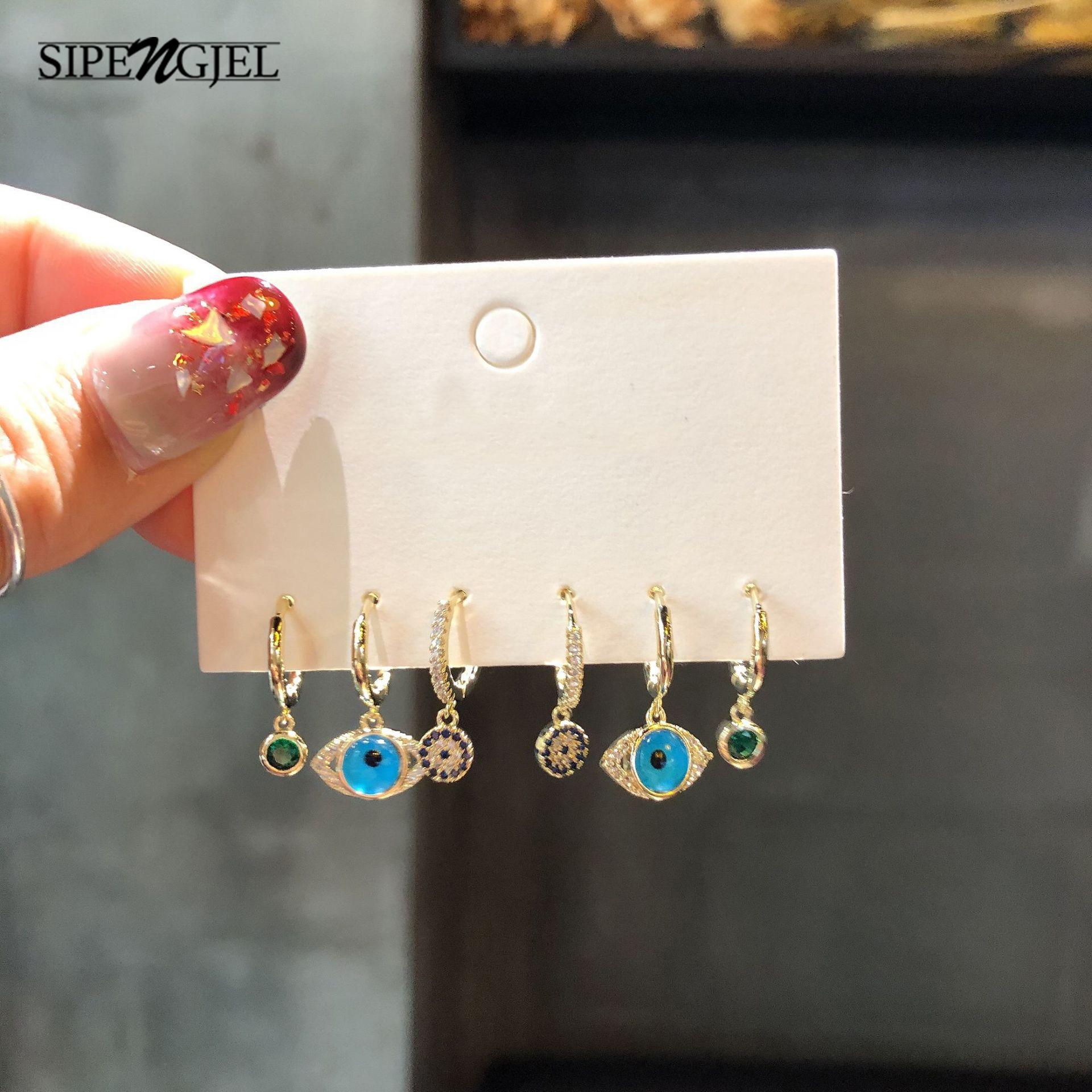 Модная маленькая золотая искусственная кожа с цирконом, роскошная женская фотография, новые корейские украшения 2020